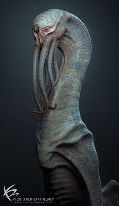 Criaturas de Ken Barthelmey!