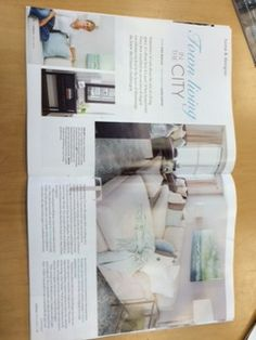 Our Homes Magazine Mississauga 2014 Fall issue - Feature Home by Natasha Melanson - found on page 30
