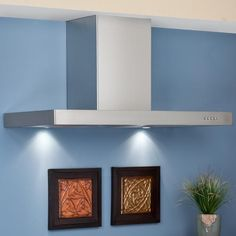 "36"" Villa Series Stainless Steel Wall-Mount Range Hood - 860 CFM Fan"
