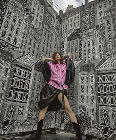 Barbara Palvin Wears Cool Girl Style for Numero Russia Barbara Palvin, Cool Girl Style, Paparazzi Photos, Vogue, Victoria Dress, New York Street, Queen, Looks Cool, Victoria Secret Swim