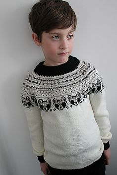 429eac1a Little bandit sweater pattern by Yvonne B. Thorsen