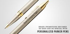 Get a #personalized #parker #pen with your company logo at #best price. https://www.photohaat.com/custom/product/parker-odyssey-brush-metal-ct-ball-pen/create