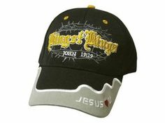King of Kings - John 19:19 Gold, Black and White Cap By Swanson 111841
