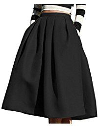 Womens High Low African Skirt Skater Aline Midi Skirts >>> You can find more details by visiting the image link.