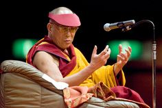 """The 14th Dalai Lama at 80: A Life In Quotes: """"There is a saying in Tibetan, 'Tragedy should be utilized as a source of strength.' No matter what sort of difficulties, how painful experience is, if we lose our hope, that's our real disaster."""""""