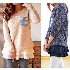 Grande Taille Femme Tricot Pull Chiffon Veste Tunique Robe Blouse Dress Shirt | eBay