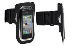 The Amphibx Fit Waterproof Armband - Large for the iPhone, iPod touch, iPod Classic, Droid and more. Ipod Touch Cases, Ipod Classic, Apple Watch, Iphone, Music, Headphones, Black, Fit, Products