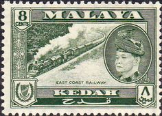 Malay State of Kedah 1957 SG 95 Scott 86 Mosque Fine Mint Other Kedah Stamps HERE
