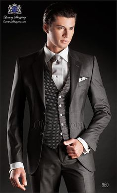 Traje de novio gris 960 ONGala Wedding suit