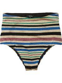 High Waisted Knitted Bikini Bottoms