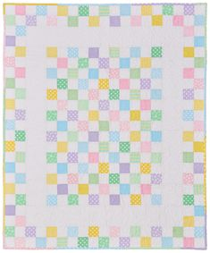 Baby Checks - Baby Quilt Patterns