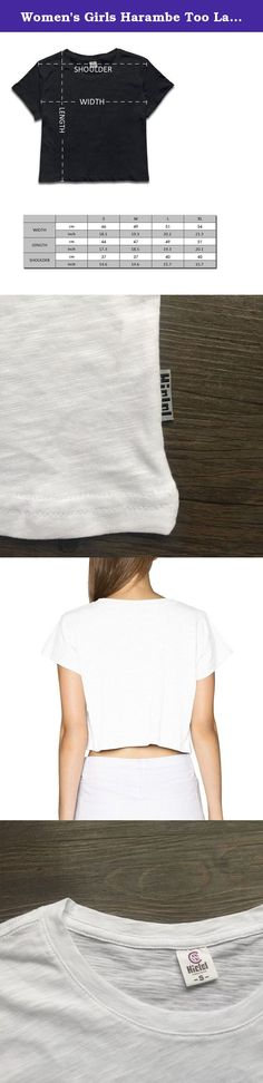 Women's Girls Harambe Too Late Quotes Bare Midriff Crop Top White S. These Are All New T-Shirts. Once Your Purchase Is Complete, We Print Your Product On-demand, Just For You.Please Allow A Little Measurement Differ Due To Manual Making. In Order To You Can Get A Fit Clothes, \r\nPlease Check Our Size Chart Details Carefully! \r\nHope You Can Enjoy Online Shopping Here.Thanks!.