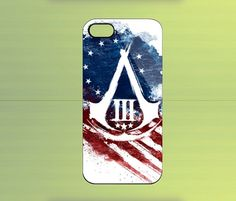Assassin Creed 3 for iPhone 4/4S iPhone 5 Galaxy S2/S3/S4 & Z10 | WorldWideCase - Accessories on ArtFire