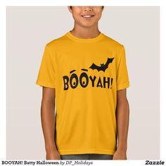 BOOYAH! Batty Halloween, Kid's T-Shirt