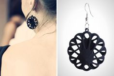Haute High Tech: 20 Must-Have Pieces of 3D Printed Jewelry via Brit + Co.