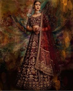 We cant get enough of this look! Our beautiful model is styled a stunning bridal lehenga from our 2020 collection. This collection features beautiful pieces with intricate embroidery stunning necklines and breathtaking silhouettes! Thank you to the amazing vendors who collaborated with us on this shoot! Are you looking to start the design process of the bridal outfit of your dreams? Or that showstopping party wear piece?  Email us at sales@wellgroomed.ca to set up a free consultation with… Wedding Saree Blouse, Bridal Lehenga, Bridal Outfits, Beautiful Models, Party Wear, Couture, Embroidery, Indian Weddings, How To Wear