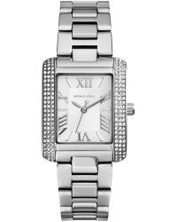 d30c7c6631 Michael Kors Mini Emery Pavéembellished Stainless Steel Watch - Lyst ...