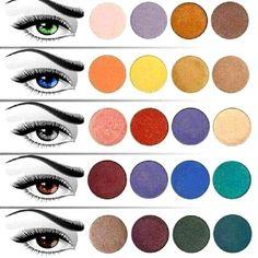 colores de sombras favorecen a tu color de ojos