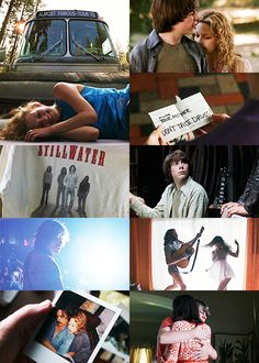 "Almost Famous- ""I love you, and I'm about to boldly go where…many men…have gone before."" Still one of my favorite movies."