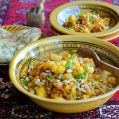 A delectable low-fat recipe that turns the humble cauliflower into an exotic flower! Can be served as an accompaniment or as a main meal.
