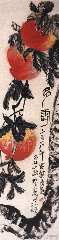 by qi bai shi in his nineties