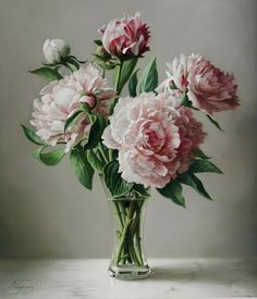 I saw the painting flowers . Discussion on LiveInternet - Russian Service Online diary Art Floral, Realistic Sketch, Flower Sketches, Peonies Garden, Oil Painting Flowers, Realistic Paintings, Fruit Art, Flowering Trees, Beautiful Paintings