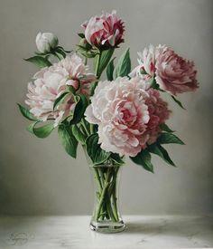 【梵花画界】【油画】比利时Pieter Wagemans 《花烂漫》[上] - 梵花無塵 - CHWEN﹡梵花無塵