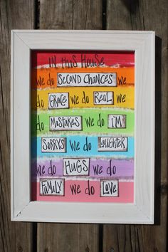 cute canvas idea for our apartment!