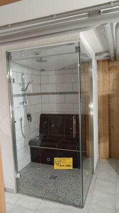 sgg timeless design wurde fr badezimmerbereiche entwickelt und wird in duschkabinen oder wannentrennwnden installiert die vor korrosion schtze - Glasdusche Kalk