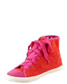 Kate Spade Suede Lorna Sneaker for $175.