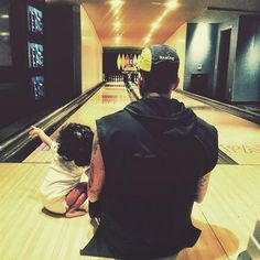 Chris Brown with daughter Royalty Brown