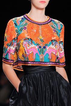 Naeem Khan at New York Fashion Week Spring 2014 - StyleBistro