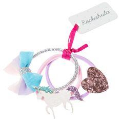 50353970890c Rockahula Children s Glitter Unicorn Hair Ponies, Pack of 3, Pink at John  Lewis   Partners