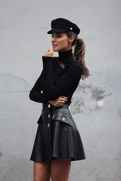 Winter Fashion Outfits, Look Fashion, Fall Outfits, Womens Fashion, Looks Chic, Looks Style, Outfits With Hats, Mode Outfits, Classy Outfits