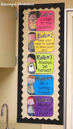 Aprender In Wonderland: Sala de aula Posto {2015-2016}