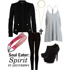 """Soul Eater: Spirit"" by mintyghost on Polyvore"