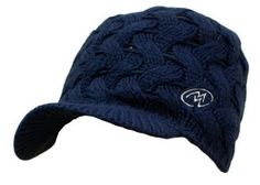 Cloudveil Carmel Women's Brimmer Hat Depth Blue by Cloudveil. $9.45. The Carmel Brimmer hat has a few uses..it will keep you head/ears warm, the sun out of your eyes, and up your style points. Why wear a run of the mill beanie when you can throw this cute one on your head? The fleece liner makes it extra warm around your ears and reduces the itch factor, which is super awesome. Find something bad about a hat that will keep you warm for a day of skiing or look great walking do...
