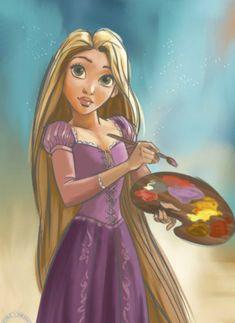 the disney princess Disney Rapunzel, Art Disney, Tangled Rapunzel, Disney Nerd, Disney Films, Disney And Dreamworks, Disney Magic, Disney Pixar, Disney Princesses