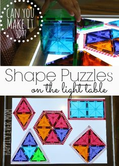 Welcome back to the Light and Reflections Series!  If you're new, be sure to check our previous posts from the series here.  Today, our topic is Math and Shapes.  Where Imagination Grows, And Next Comes L, and Still Playing School  are posting their ideas as well.  Please stop by and see what they're up to!continue reading...