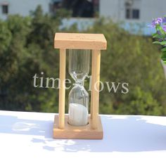 Small Wooden Sand Clock Hourglass Timer 3  Minutes for Tea/Cafe Decor Xmas Birthday gift-in Hourglasses from Home & Garden on Aliexpress.com | Alibaba Group