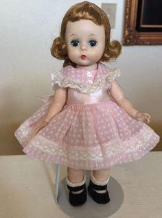 "Vintage Slw Madame Alexander 8"" Wendy Doll Original Tagged Complete"