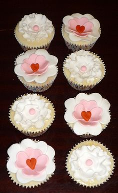 Mother's Day Cupcakes vegan orange cake. Happy Mother's Day from Eva-Rose Cakes x