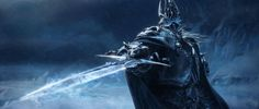 WoW: Wrath of the Lich King by David Luong, via Behance  (Watch the video in the link. Very cool)