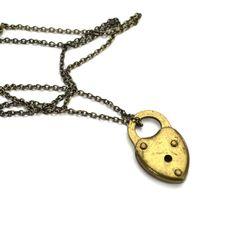 GWP  Heart Padlock Necklace