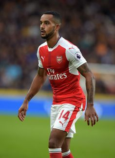 Theo Walcott of Arsenal during the Premier League match between Hull City and…
