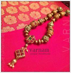 varnam terracotta temple jewelry