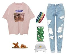 Summer Bum by si6goddess on Polyvore featuring polyvore, fashion, style, Topshop, A.P.C., Dolce&Gabbana and clothing