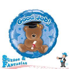 Good Job Bear Blue. http://suenosyfantasias.com/celebraciones/graduacion.html