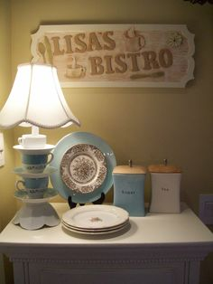 teacup lamp by Recaptured Charm