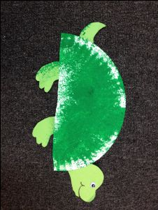 turtle craft for preschoolers